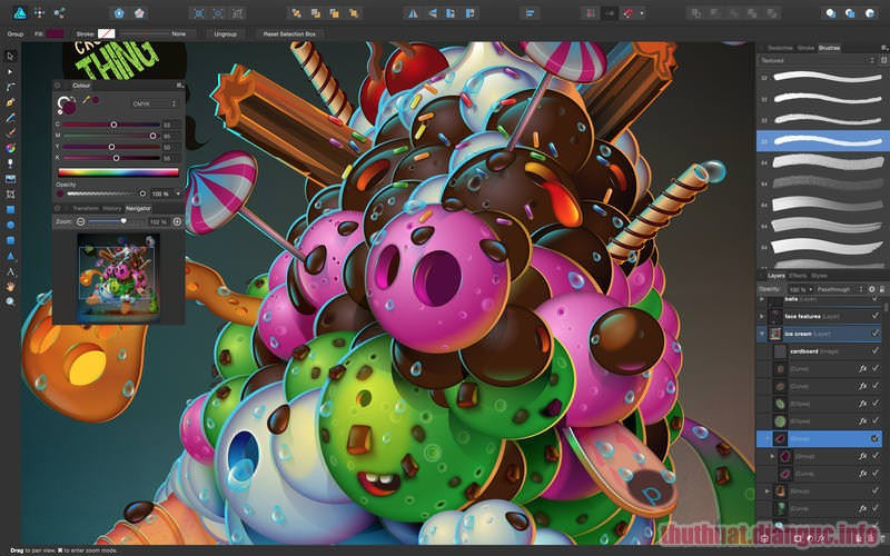 Download Serif Affinity Designer 1.7.1.404 Full Crack