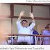 Em Parnaíba, Bolsonaro fala em 'varrer turma vermelha' no país