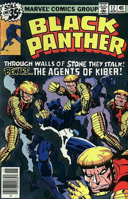 Black Panther #12, the agents of Kiber