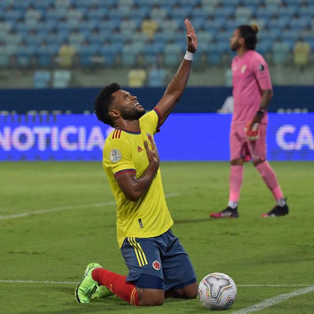 Jugador de Colombia en la Copa America 21