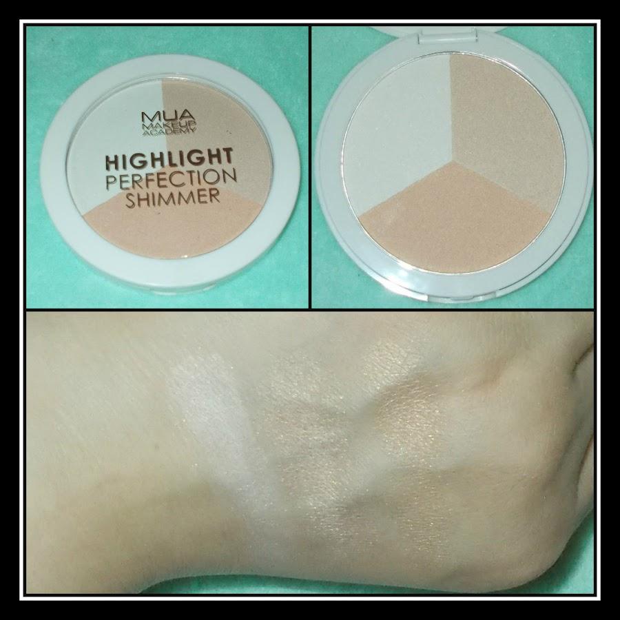 Liquidaciones maquillaje low cost MUA en primor trío shimmer polvos