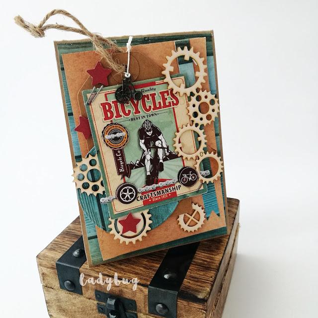 Kartka dla rowerzysty