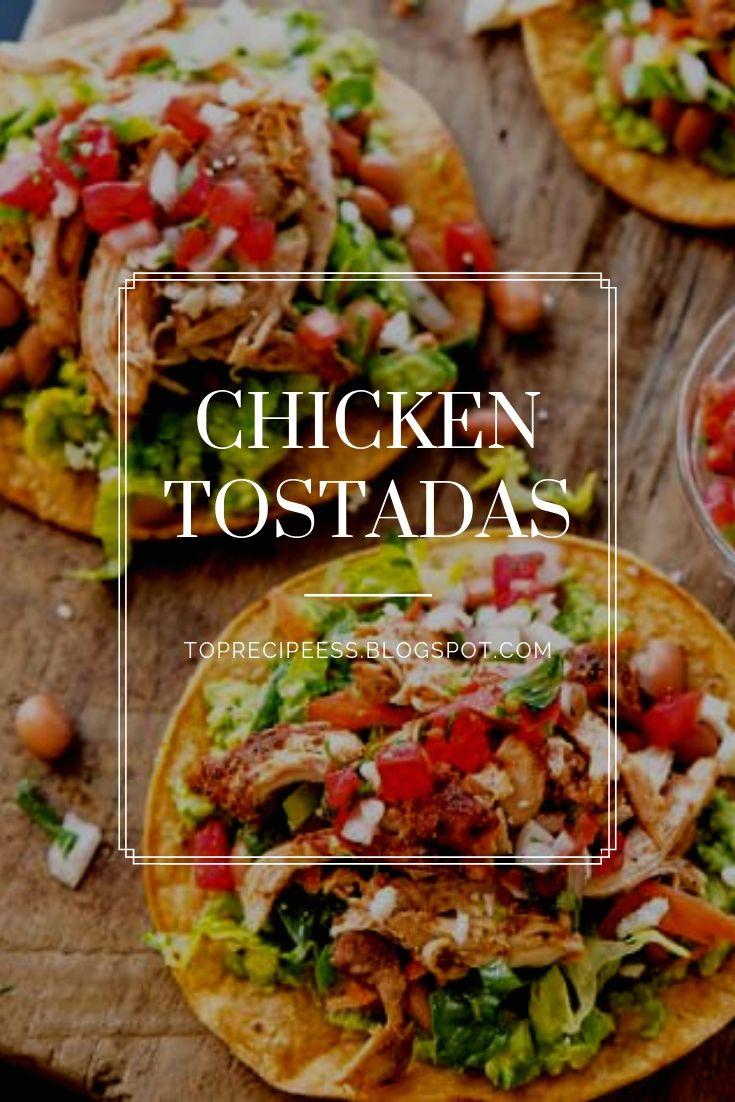 Chicken Tostadas | Healthy Dinner, easy Dinner, Dinner recipes, week night Dinner, Dinner ideas, chicken Dinner, Dinner fortwo, quick Dinner, family Dinner, Dinner casseroles, cheap Dinner, vegetarian Dinner, summerDinner, Dinner crockpot, Dinner beef, keto Dinner, fall Dinner, lowcarb Dinner, steak Dinner, Dinner sides, Dinner tonight, Sunday Dinner, fancy Dinner, Mexican Dinner, Dinner pasta, food Dinner, paleo Dinner, vegan Dinner, shrimp Dinner, Dinner for2, #Dinnerrestaurant, #Dinnercouple, #Dinnerwithfriends, #Dinnerphotography, #winterDinner, #Dinneroutfit, #Dinnermeat, #yummyDinner, #Dinnerrice, #Dinnergrill, #birthdayDinner, #funDinner, #Dinnermenu, #Dinnersoup, #Dinnerroom, #Dinneraeasyrecipes, #Dinneracrockpot, #Dinnerdeasyrecipes, #Dinnerdprimerib, #Dinnerfglutenfree, #Dinnerieasyrecipes, #Dinnericrockpot, #Dinneriglutenfree, #Dinnerifamilies, #Dinnerimeals, #Dinnerilowcarb, #Dinnericheese, #Dinnerihealthy