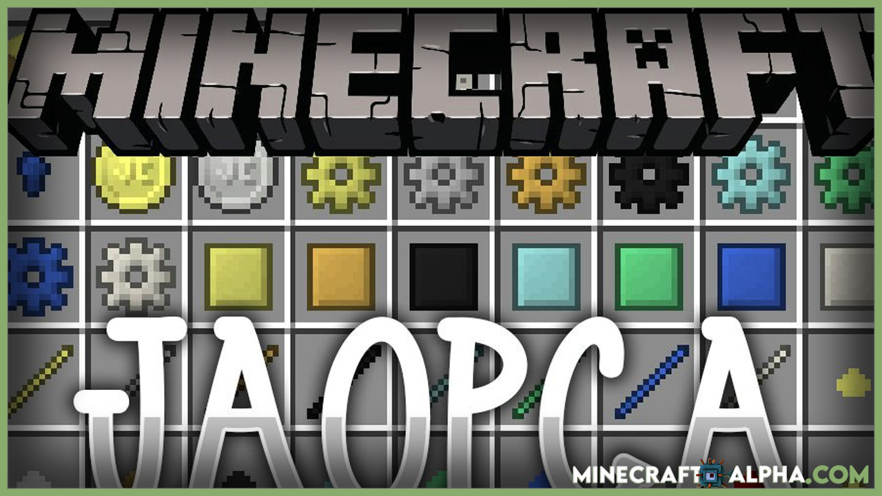 Minecraft JAOPCA Mod 1.17.1 (Just A Ore Processing Compatibility Attempt)