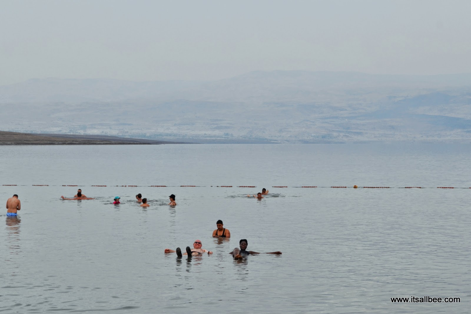Israel Dead Sea Floating