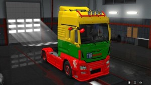 MAN TGX by Madster Lithuanian Skin
