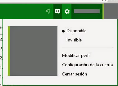 Mantente invisible en el chat de Outlook.com