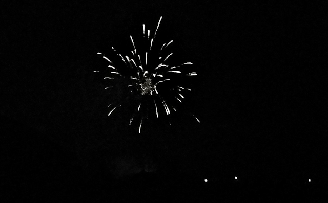 Fireworks on NYE