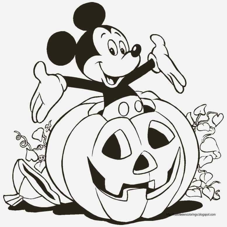 disney halloween coloring page.html