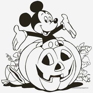 Halloween para colorir para você imprimir e colorir