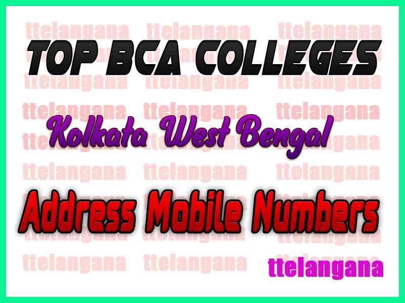 Top BCA Colleges in Kolkata West Bengal
