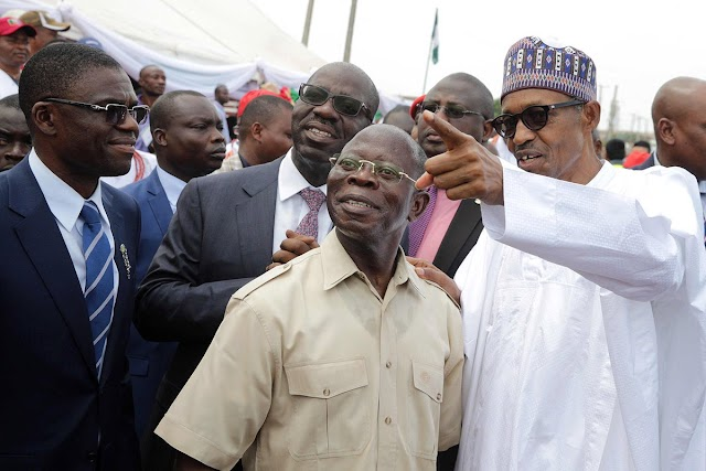 President Buhari Who Asked Me To Be The Party Chairman Also Presided Over My Sack, Says Oshiomhole