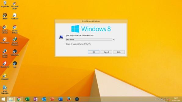 Cara Mematikan Komputer Dengan Keyboard di Windows  3 Cara Mematikan Komputer dengan Keyboard di Windows 8 tanpa Mouse