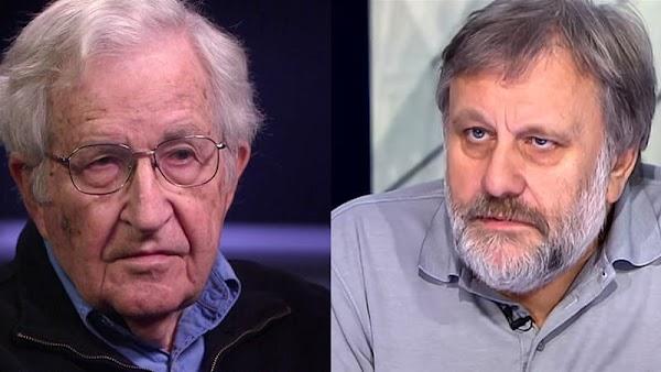 Zizek sobre Noam Chomsky : « No conozco a un tipo mas empíricamente equivocado »