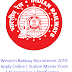 Western Railway Station Master Recruitment 2019 For 135 Posts