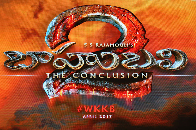 Baahubali 2 logo launched