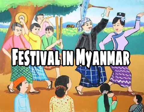 Festival in Myanmar