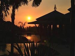 Sunset at Mandarava Resort Karon Beach Phuket