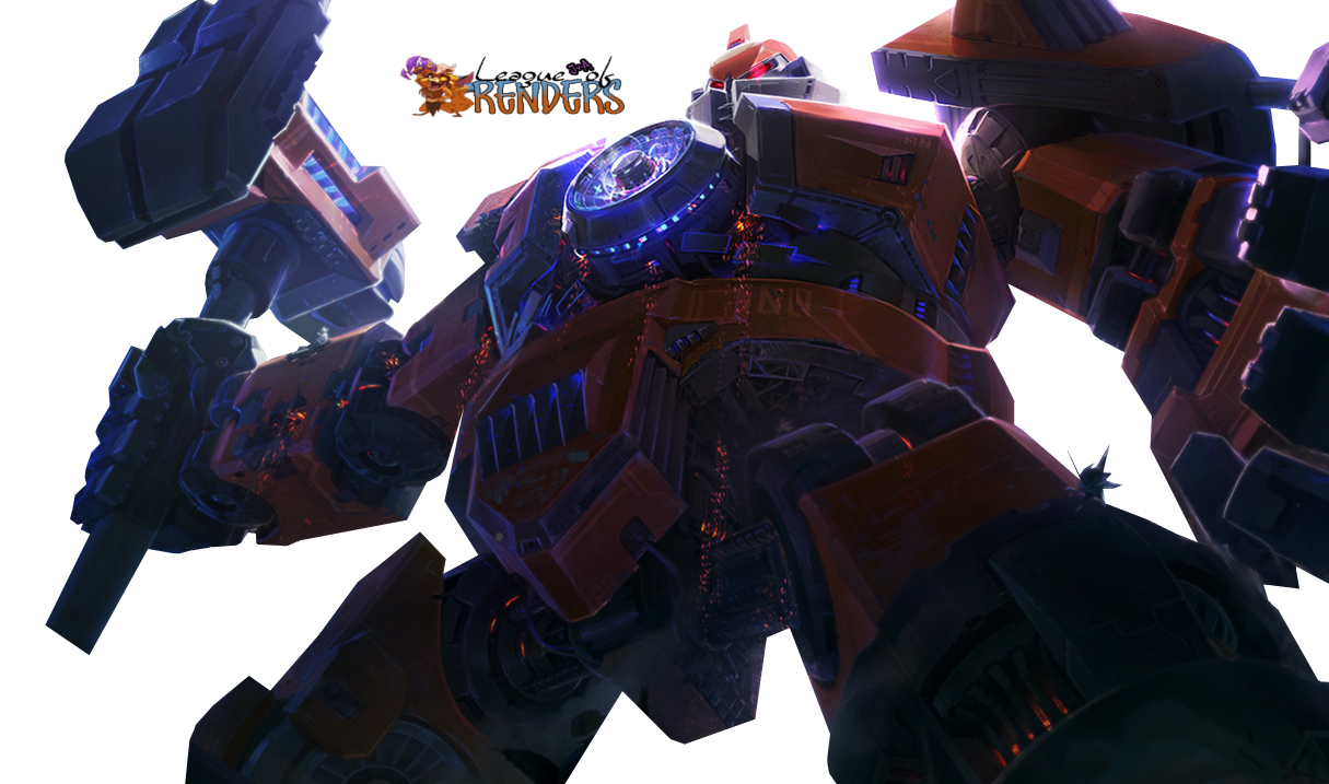 render Mecha Zero Sion + League of Legends,