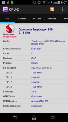 CPU-Z, Cara Identifikasi Android Anda
