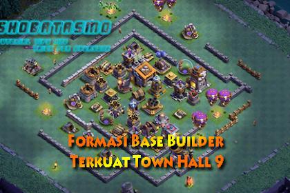 Base Builder Malam Terkuat Town Hall 9