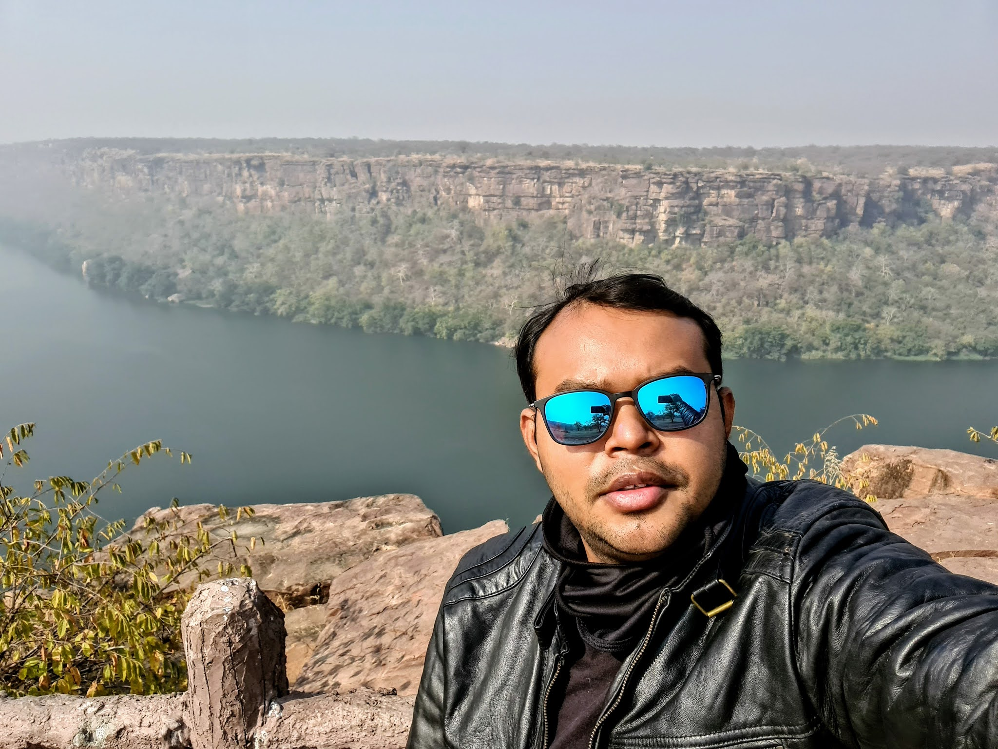 Selfie at the Garadia Mahadev viewpoint