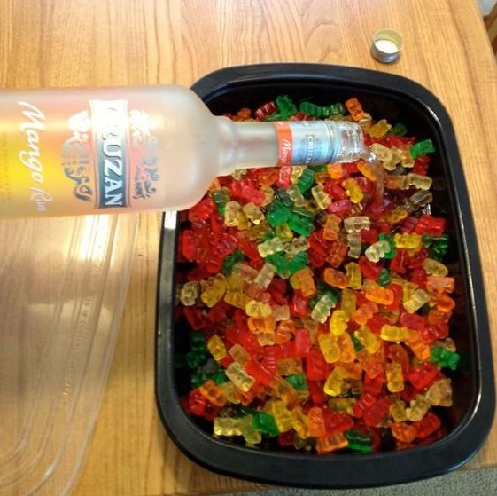 How to Make Rummy Bears #Alcohol #Drinks