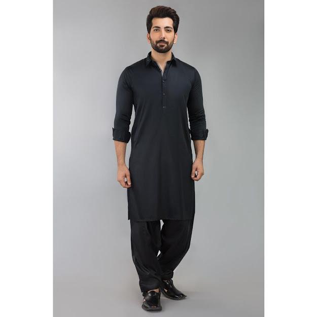 Gul Ahmed Black bsic fashion suits