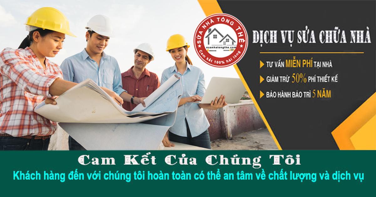 Dịch vụ sửa chữa nhà cũ, sửa nhà trọn gói tại TPHCM