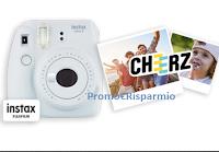 Logo Concorso ''SprayPanChallenge'' : vinci voucher Cheerz (gratis) o fotocamere Fujifilm