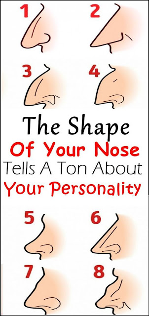 Your Nose Shape Tells A Ton About Your Personality…
