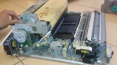 Fungsi Komponen dan Spareparts mesin fotocopy