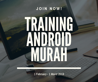 Training Android dan Networking Murah