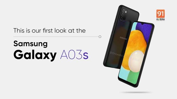 تظهر مواصفات Galaxy A03s الاقل تكلفة من سامسونج