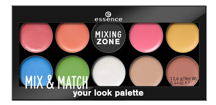 essence mix & match your look palette