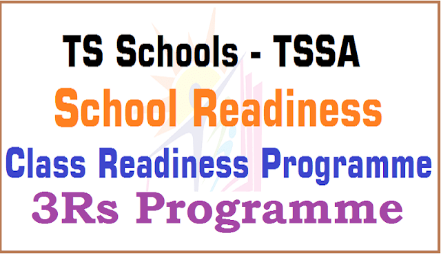 3Rs,School Readiness Programme,Class Readiness Programme