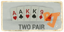 Two Pair IDN Poker