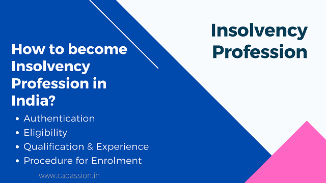 How to Become an Insolvency Professional in India?