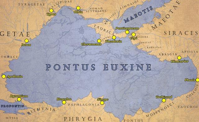 Byzantium and the Pontus Euxine byzantium.filminspector.com