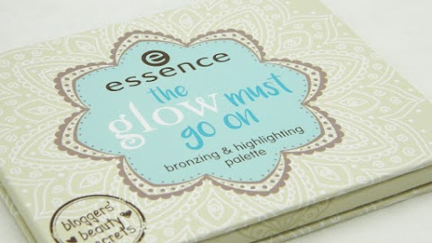 Recenzija: Essence - the glow must go on paleta