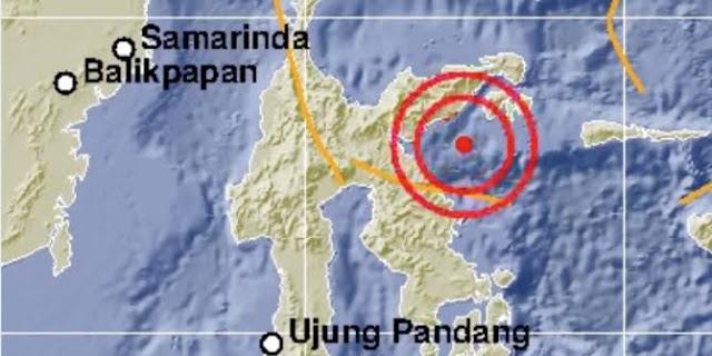 Lokasi gempa