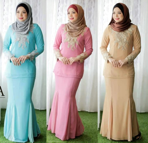 model baju kurung modis