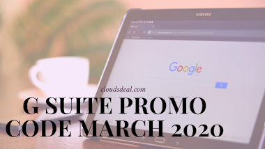 G Suite Promo Code March 2020 (50% OFF)
