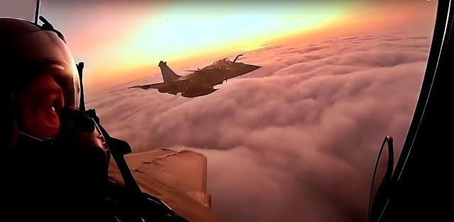 Το πρώτο crash test των Rafale στο Αιγαίο-Τα γαλλικά μαχητικά μαζί και απέναντι στα Ελληνικά F-16 και Mirage