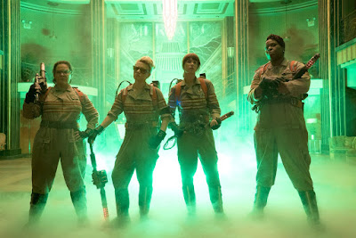 les 4 héroïnes Ghostbusters 2016 S.O.S. Fantômes