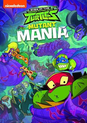 Rise of the Teenage Mutant Ninja Turtles: Mutant Mania [2020] [DVD R1] [Latino]
