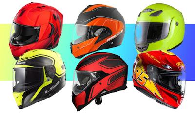 rekomendaasi helm terbaik dan terbaru