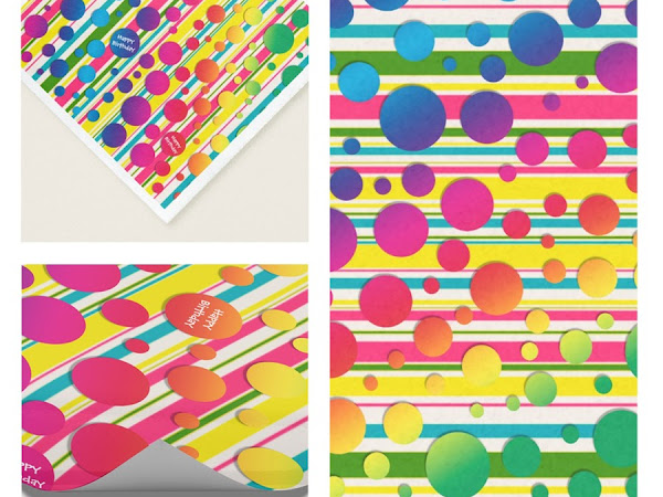 Designer Spotlight : Col's Creations - Beatnik Bubbles Rainbow Dots and Stripes Collection