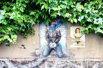 Sunday Street Art : Ender - rue des Cascades - Paris 20