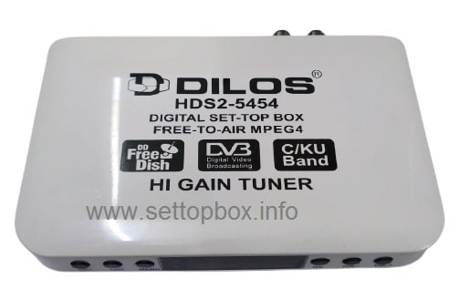 Dilos HDS2-5454 Set-Top Box Specifications, Review, Software